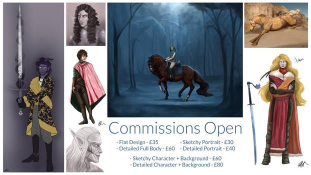 Commission Sheet June 2020
