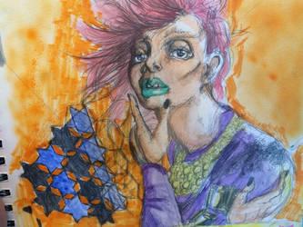 Watercolor Sketch #1 by noodle-survivor