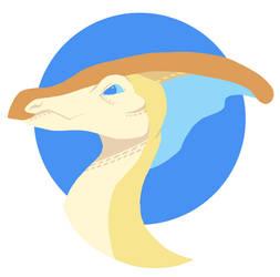 Parasaurolophus by MalevolentMask