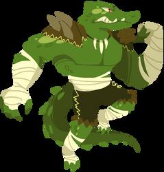 Killer Croc by MalevolentMask