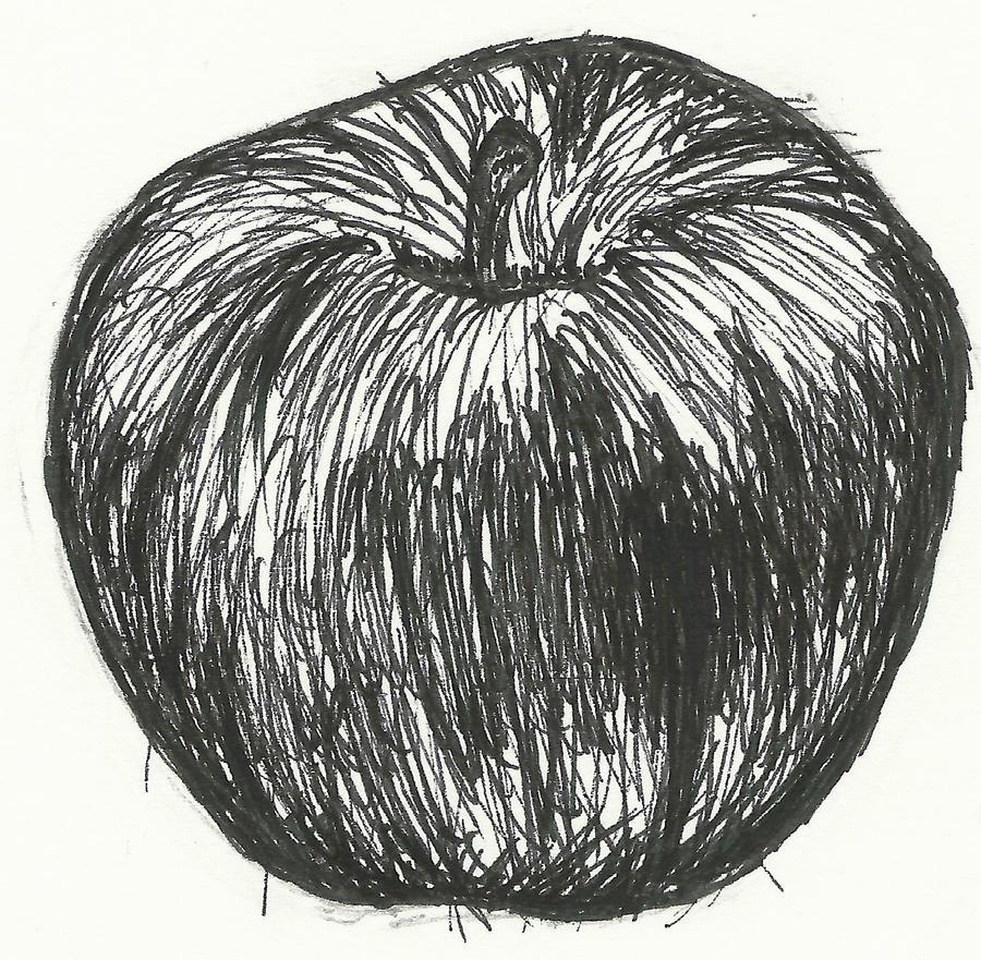 Apple Pen Drawing By EmilyBamforth On DeviantArt
