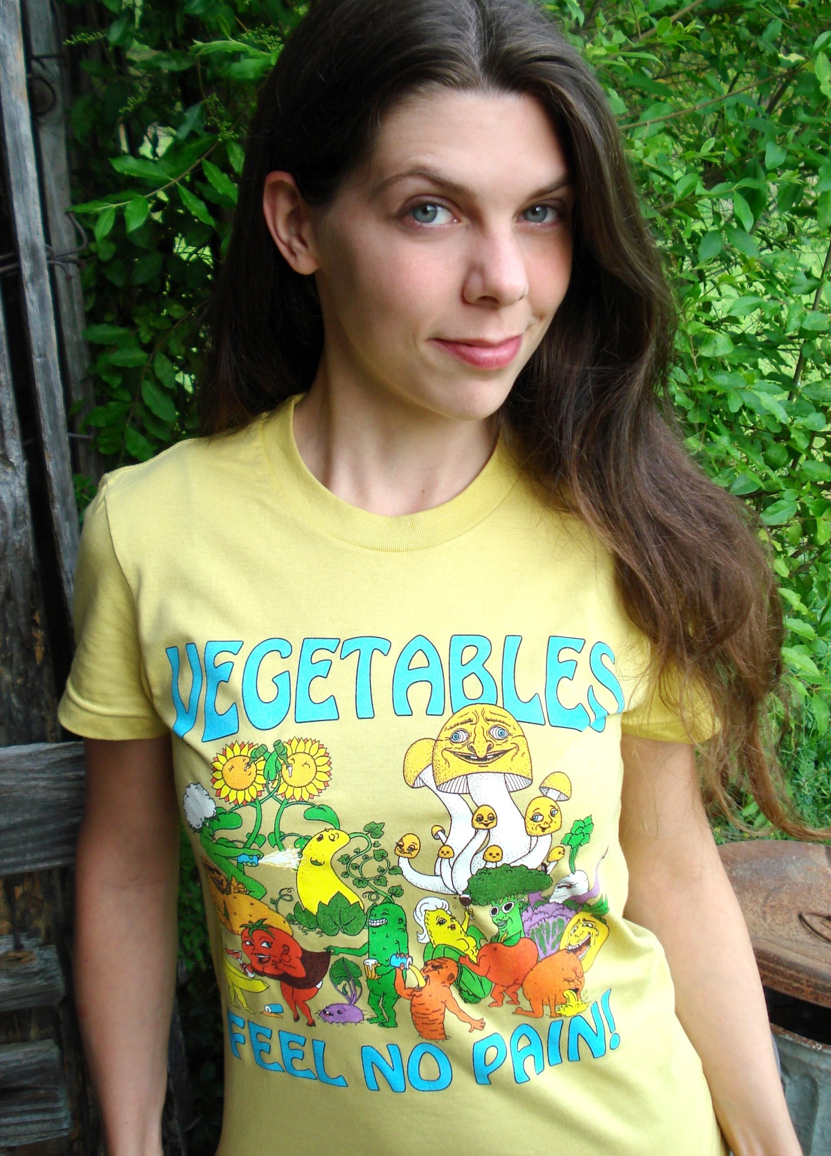 Roving House - Vegetables Feel No Pain by thecymbalwench