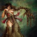 Malevolent Dryad by angotti81