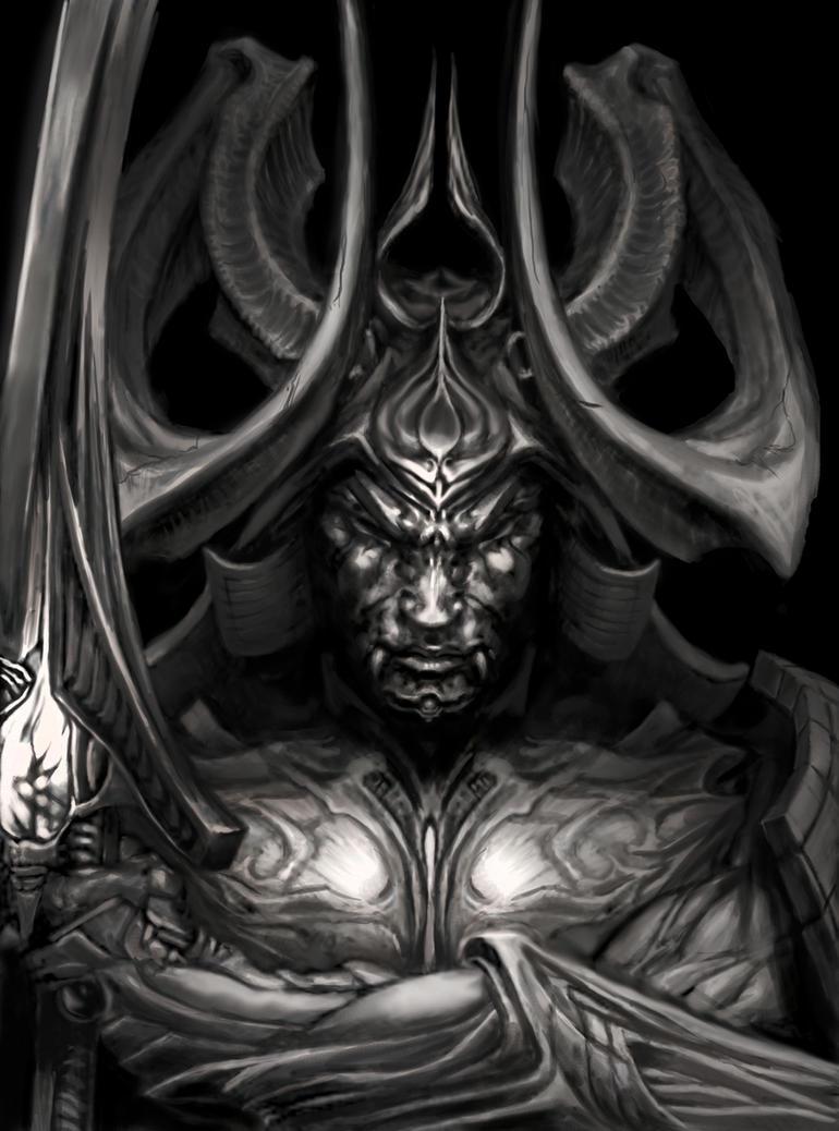 demon samurai redux by angotti81 on deviantart