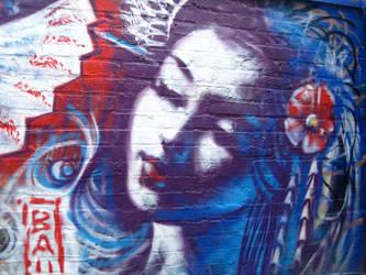 Geisha Spraypaint by angotti81