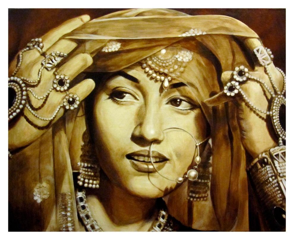 Madhubala by angotti81