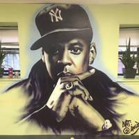 Jay-Z Mural