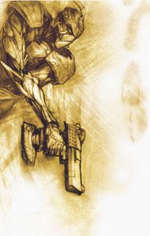Gun Robot by angotti81