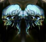 Skull siamese twin
