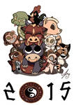 Chinese Zodiac Poster by azuh