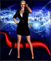 Villain Bio:  Dr. Sheila Hauptmann by Zespara