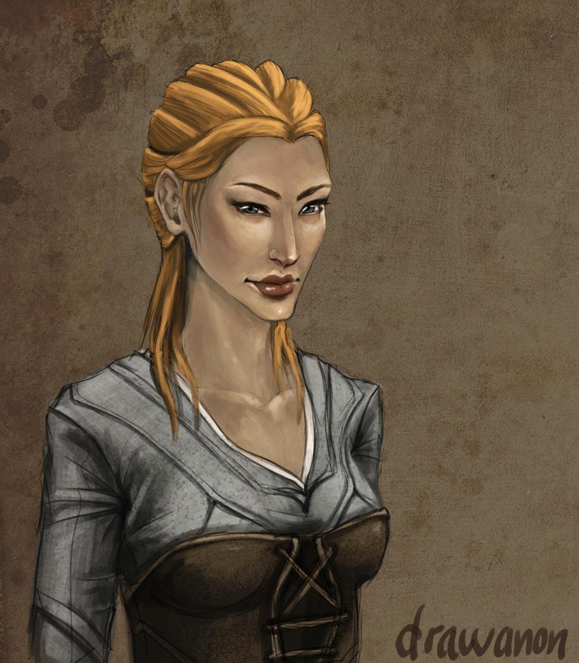 Ragnhild by drawanon