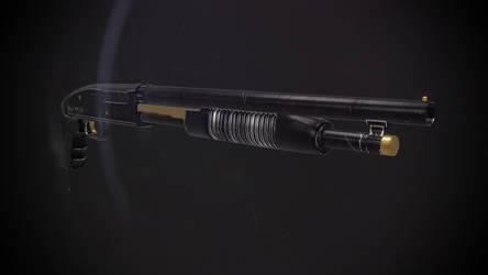 (UE4)Mossberg Shotgun by Vasilesco