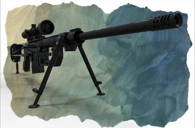 CheyTac Intervention M200 - HighPoly version by Vasilesco