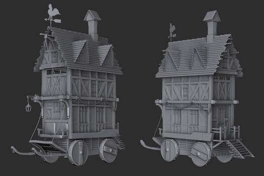 Old Tiny House