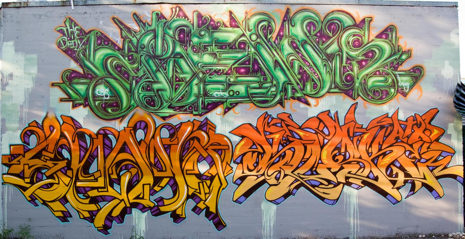 Designers guide to graffiti fonts rushordertees blog wildstyle graffiti writing via altavistaventures Image collections