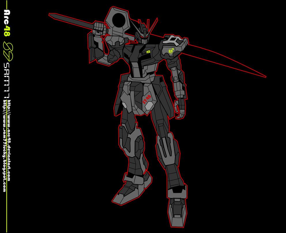 Gundam GAT-748S By Sam77 Arc48 by Arc48