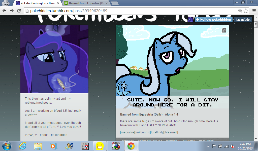 Let s review banned from equestria daily 1 4 by iloveyouvirus on
