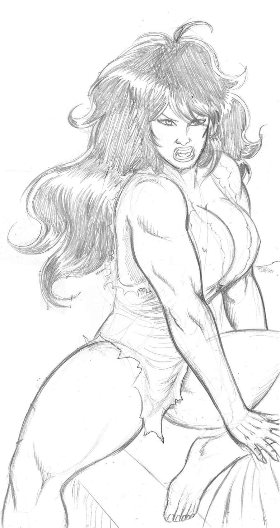 DSC She Hulk by MikeMcelwee