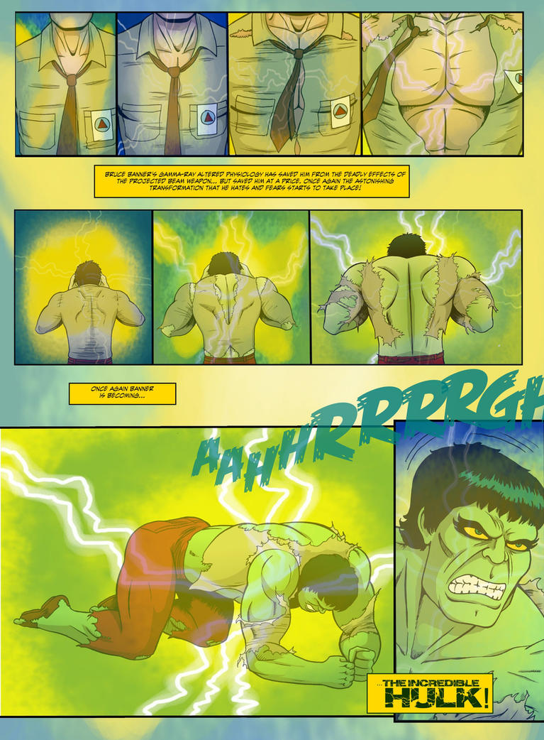The Incredible Hulk: Red Alert Page 3 by MikeMcelwee