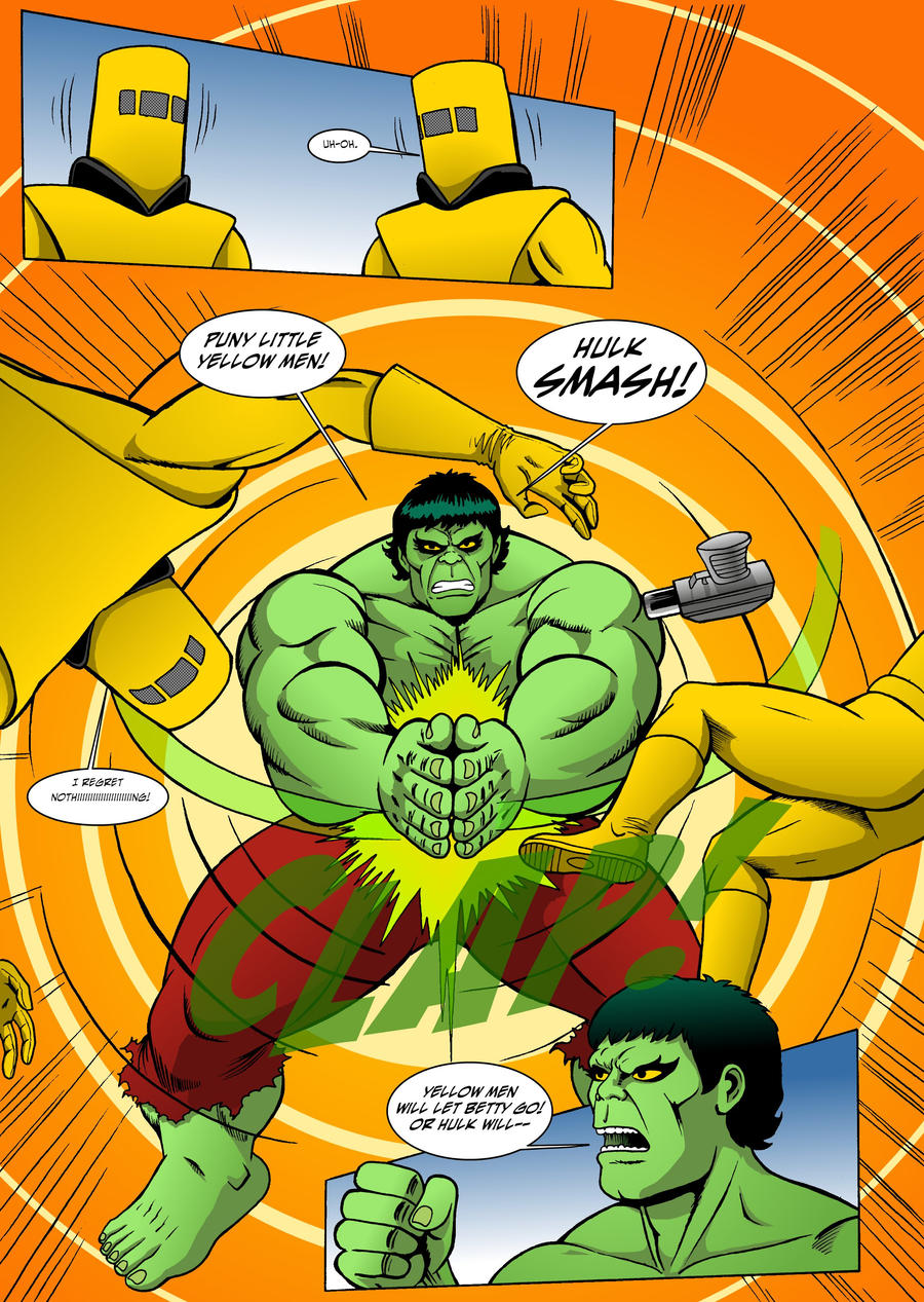 The Incredible Hulk: Red Alert Page 4 by MikeMcelwee on DeviantArt