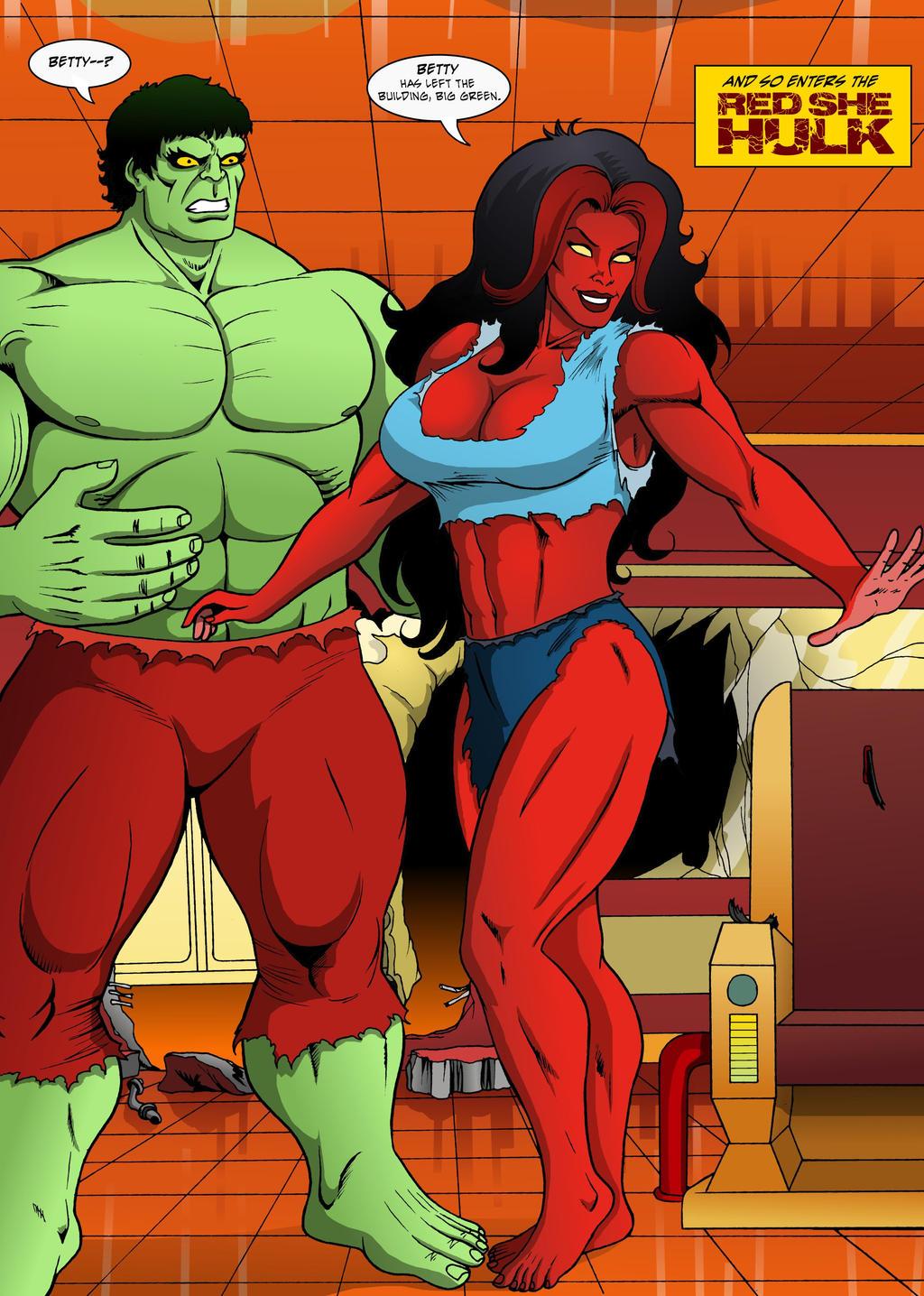 She Hulk Transformation 1 By ManicArchives On DeviantART