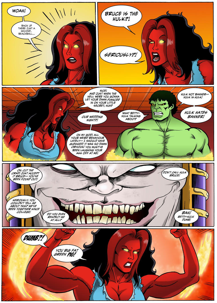 The Incredible Hulk: Red Alert Page 28 by MikeMcelwee