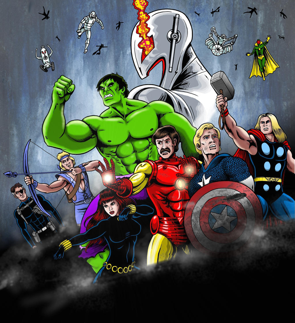 Avengers Age Of Ultron By Iloegbunam On Deviantart: Avengers: Age Of Ultron Without Type. By MikeMcelwee On