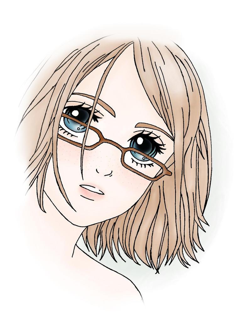 Fading Girl: A Self Portrait by raienna