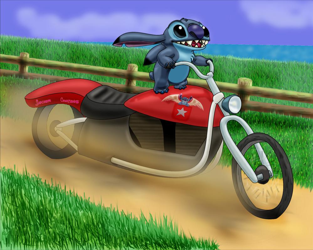 Biker Stitch by NeoseekerStitch
