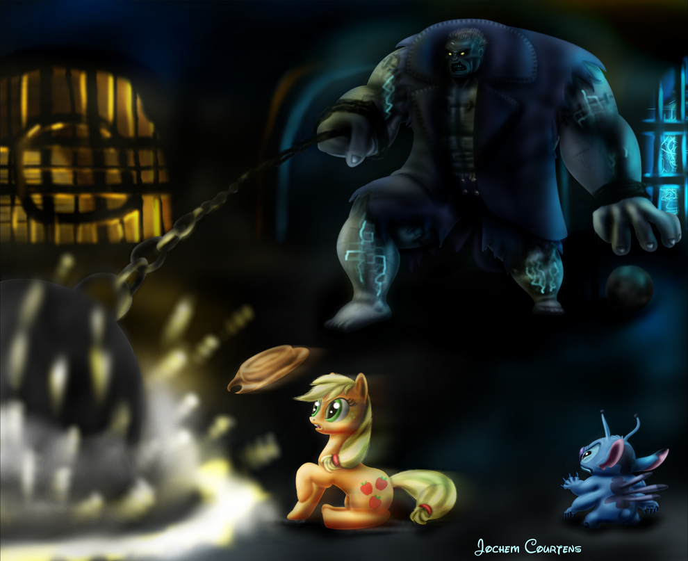Solomon Grundy, Ponies On A Monday... by NeoseekerStitch