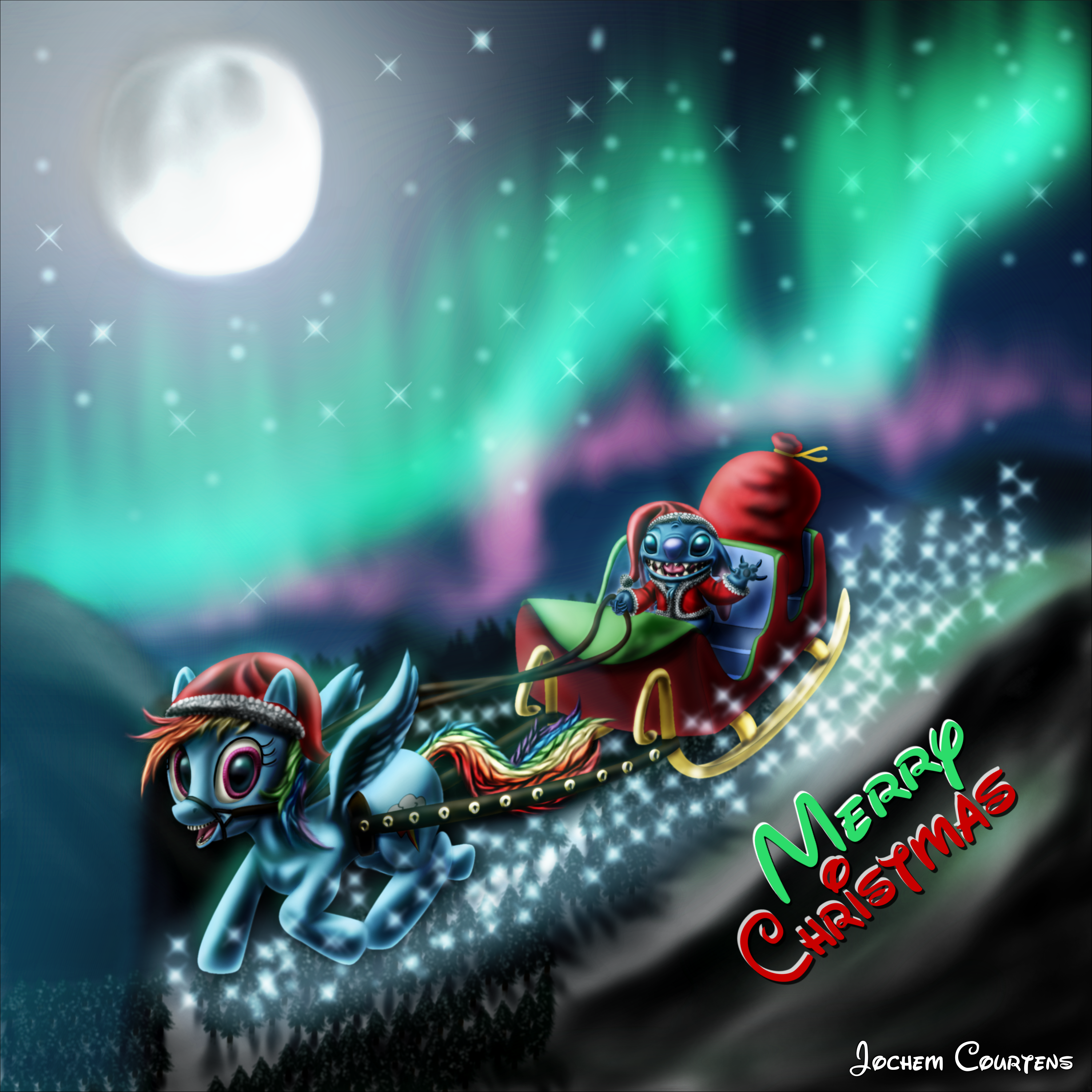 NeoseekerStitch Christmas Stitch And Dash By