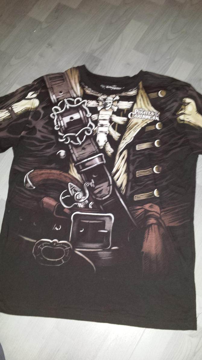 Pirates T-shirt by NeoseekerStitch