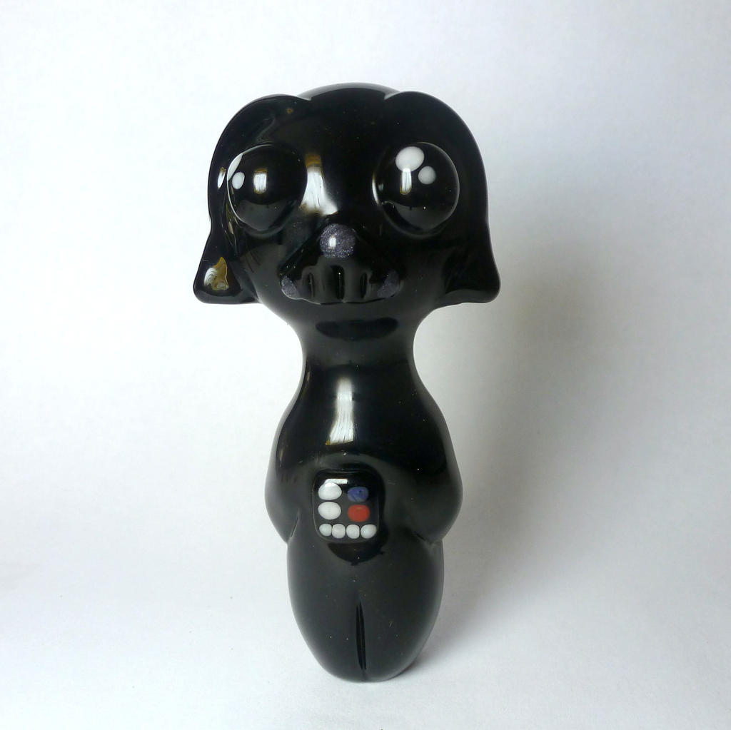 chibi darth vader glass pipe by leoglass on deviantart