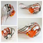 Charmander on Pokeball Glass Pipe