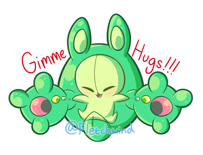 Gummy Hugs Stickers!! by FletchWind
