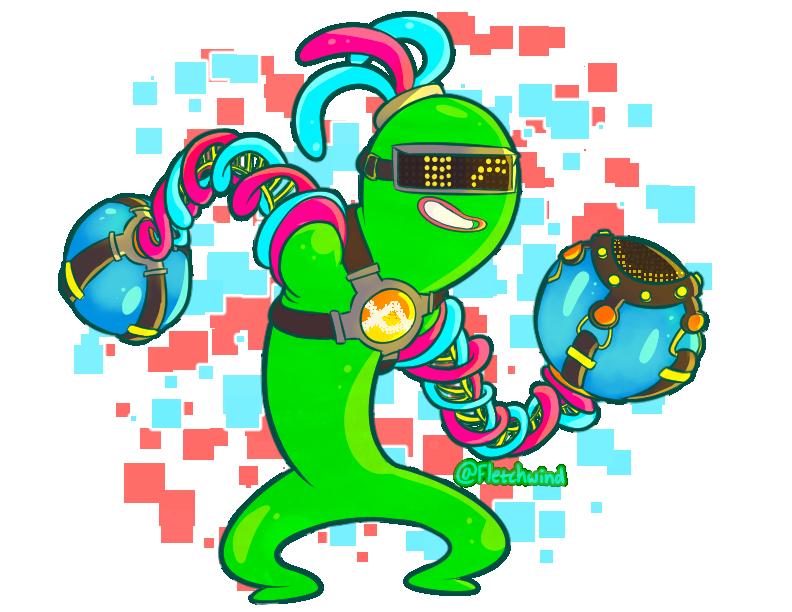Flubber Buddy by FletchWind