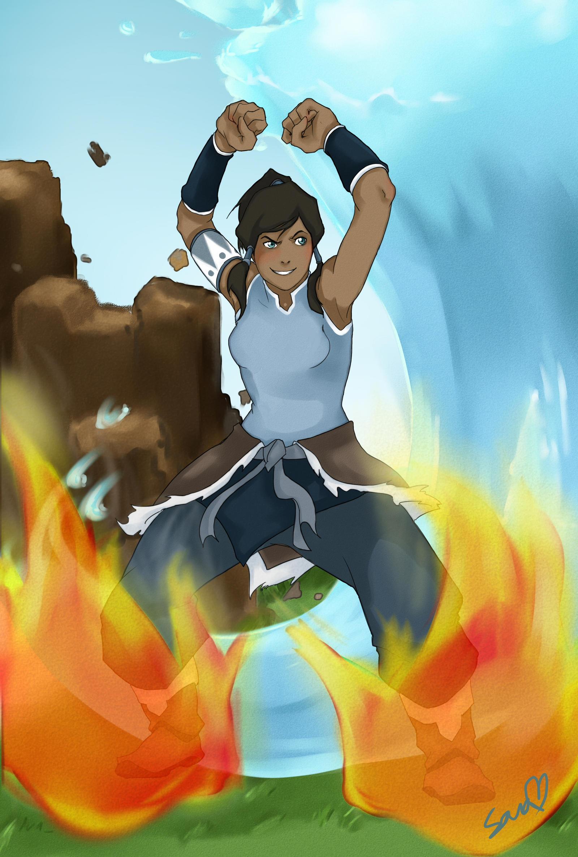 Avatar Korra by rikku-hime
