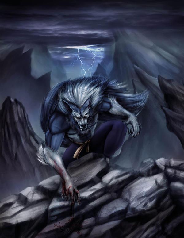 darkstalker by kalong