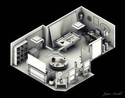 Interior Isometric by aroche