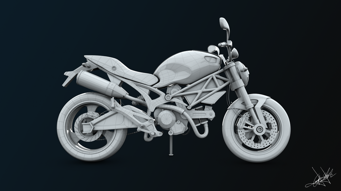 Ducati Monster 696 by aroche