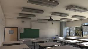 Art Classroom by aroche