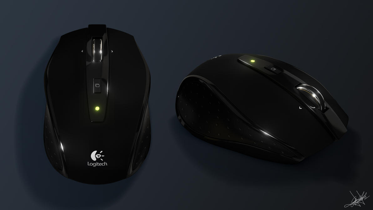Logitech Mouse by aroche