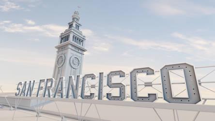 Ferry Building Model by aroche