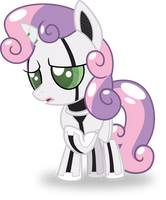 Sweetie Bot by No-Time-For-Caution
