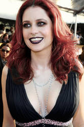 Jenna Fischer, Gothy by imyourpusherman
