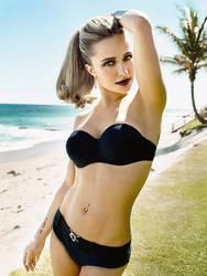 Hayden Panettiere, Beach Goth by imyourpusherman