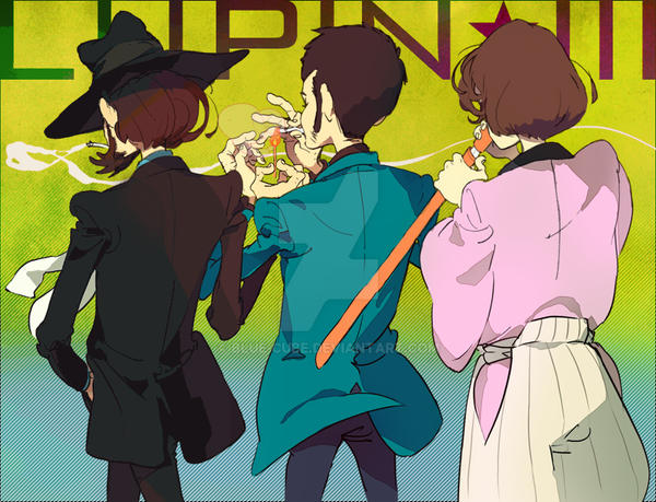 A back of lupin