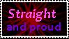 Straight Stamp by KalineReine