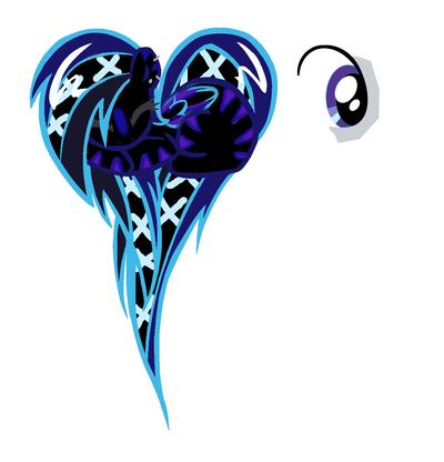 Blue Laser Custom Pegasus by KalineReine